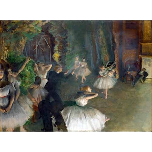 """Repetition D un Ballet Sur La Scene, 1873-74"""