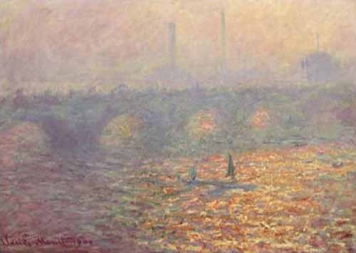 landscapes - Waterloo Bridge, 1900 - Monet, Claude