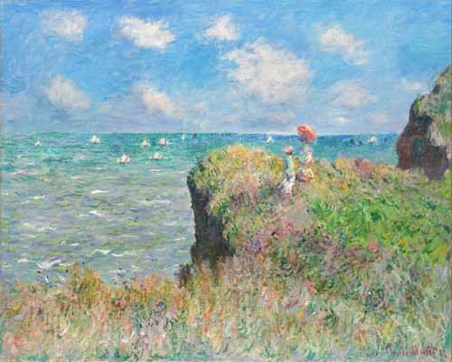 landscapes - Etretat - Monet, Claude