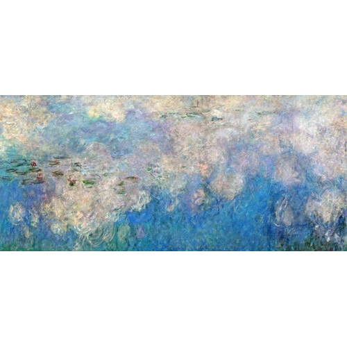 """The Waterlilies - The Clouds (central section)."""