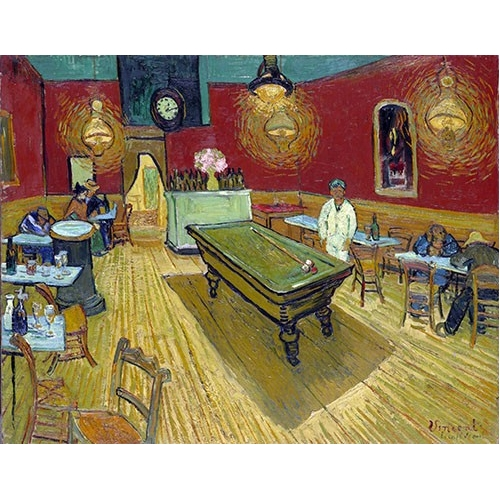 Comprar  - Cuadro The Night Cafe in Arles, 1888 online - Van Gogh, Vincent