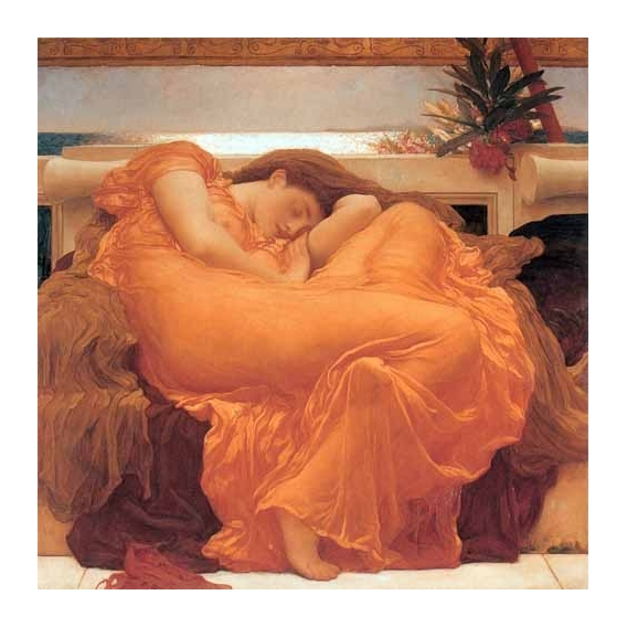 """Flaming June"""