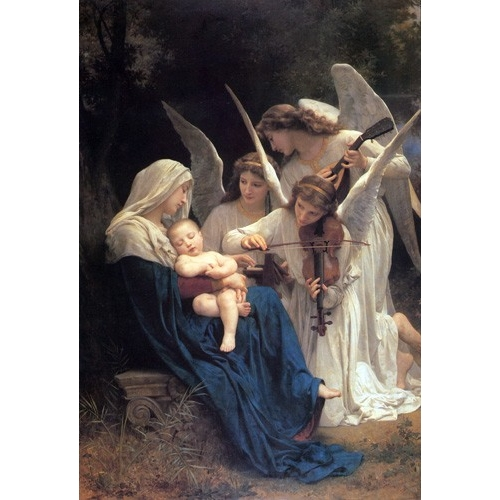 Comprar  - Cuadro Song of the Angels online - Bouguereau, William