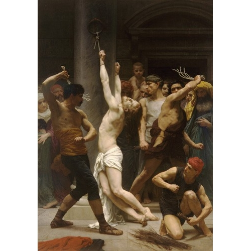 Comprar cuadros religiosos - Cuadro Flagellation of Christ online - Bouguereau, William