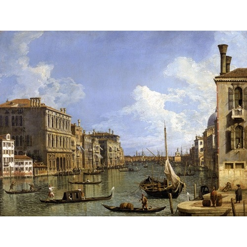 Comprar seascapes - Veduta del canal grande online - Canaletto, Giovanni A. Canal