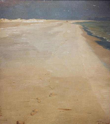 cuadros de marinas - Cuadro South beach of Skagen - Kroyer, Peder Severin