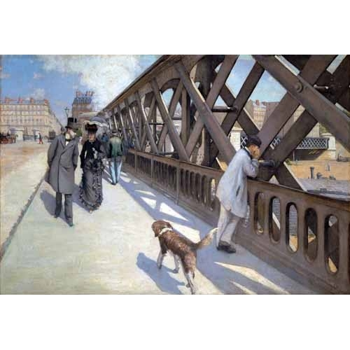"""Le Pont De L Europe, Paris, 1876"""