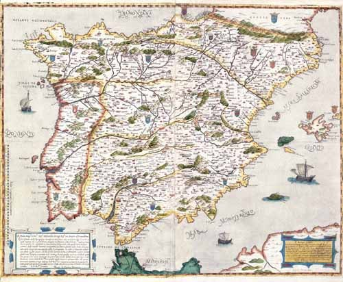 maps, drawings and watercolors - España antiguo-1  - Mapas antiguos