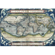 "Cuadro ""Ortelius World Map, 1570"""