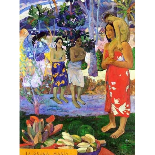 Comprar portrait and figure - Ia Orana Maria online - Gauguin, Paul