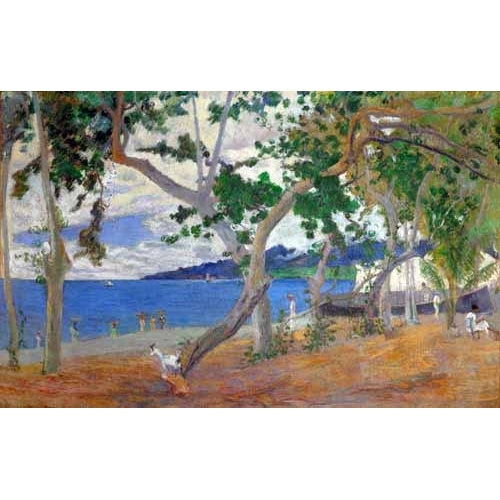 Comprar seascapes - Sea shore, 1887 online - Gauguin, Paul