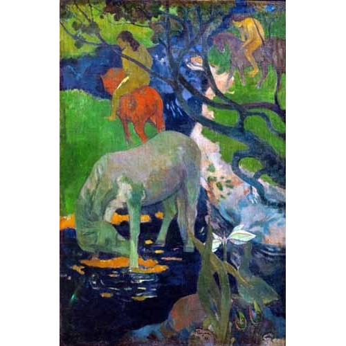 Comprar landscapes - Caballo Blanco, 1898 online - Gauguin, Paul