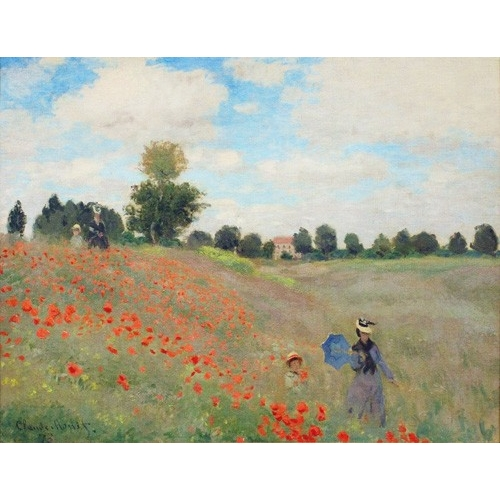 Comprar landscapes - Wild Poppies, near Argenteuil online - Monet, Claude