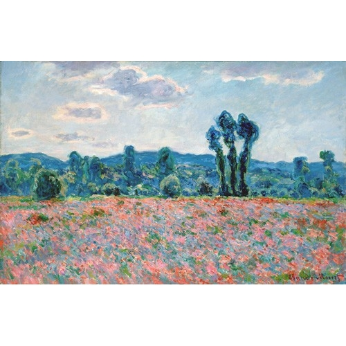 """Poppy Field, 1887 (oil on canvas)"""