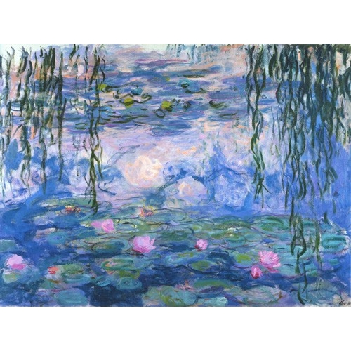 """Waterlilies, 1916-19"""