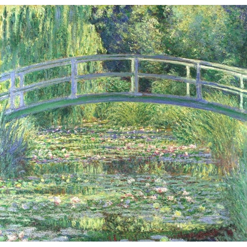 """Waterlily Pond, 1899 (oil on canvas)"""
