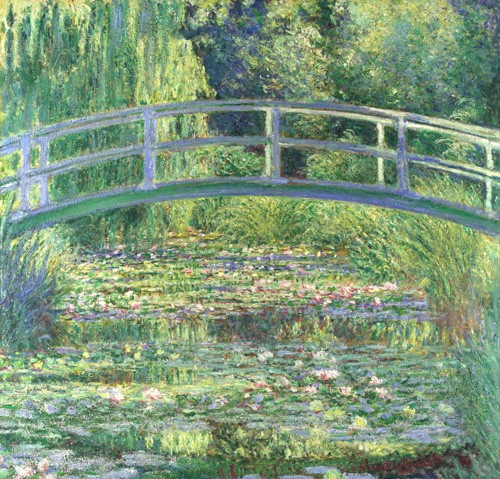 cuadros de paisajes - Cuadro Waterlily Pond, 1899 (oil on canvas) - Monet, Claude