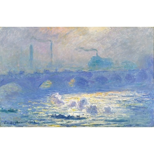 Cuadro Waterloo Bridge, Effect of the Mist, 1903