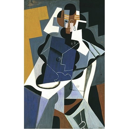 "Cuadro ""Figure of a Woman, 1917"""