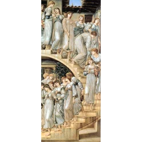 Comprar portrait and figure - The Golden Stairs online - Burne-Jones, Edward