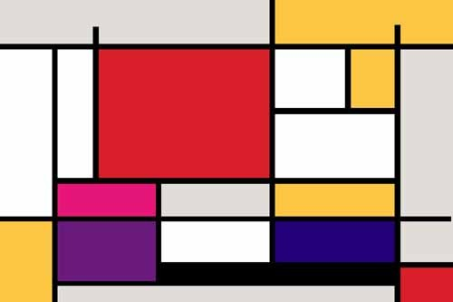 abstracts paintings - Abstractos MM_MONDRIAN (I) - Vicente, E. Ricardo