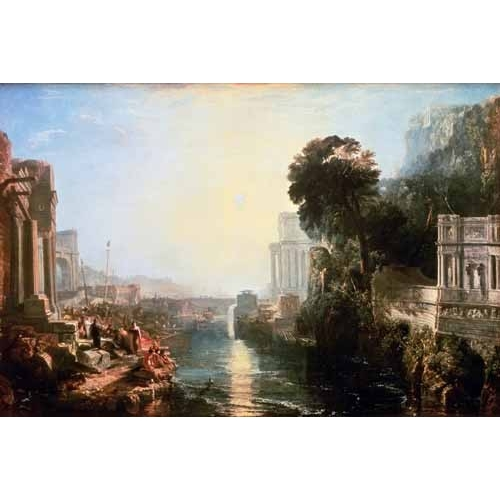"Cuadro ""The Rise Of The Carthaginian Empire, 1815"""