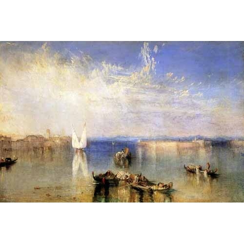 Comprar seascapes - Campo Santo, Venecia online - Turner, Joseph M. William