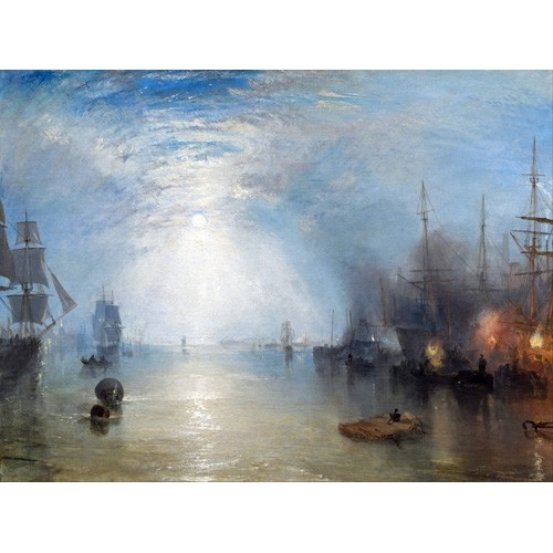 Comprar seascapes - Keelmen heaving in coals by night online - Turner, Joseph M. William