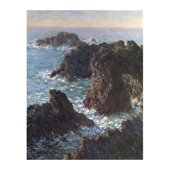 """Cliffs at Belle-Île"""