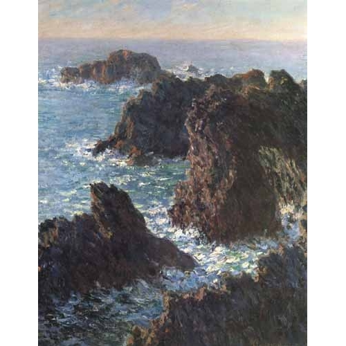 Comprar seascapes - Cliffs at Belle-Île online - Monet, Claude