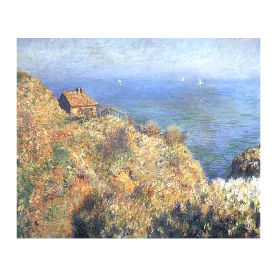 """Cliffs at Varengeville (II)."""