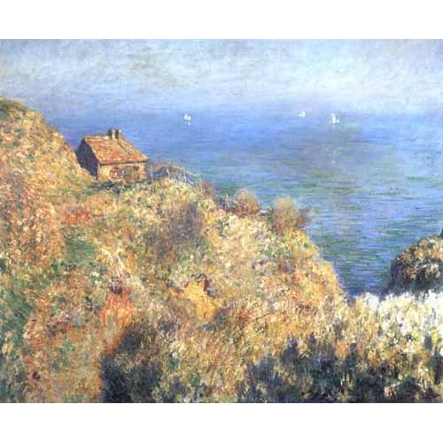 Comprar seascapes - Cliffs at Varengeville (II). online - Monet, Claude