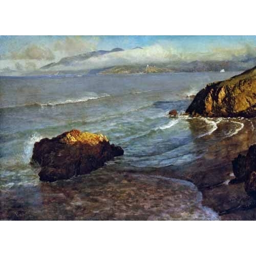 Comprar seascapes - Entrance to the Golden Gate online - Bierstadt, Albert