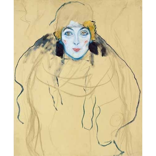 Comprar portrait and figure - Head of a Woman online - Klimt, Gustav