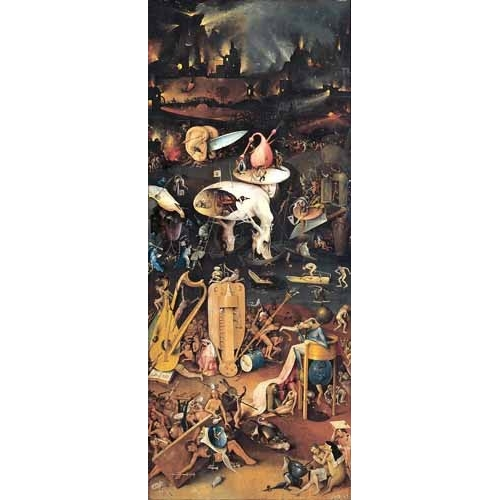 Bosco el hieronymus bosch paintings buy cheap for Bosco el jardin de las delicias