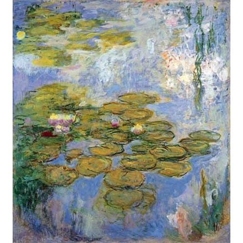 Comprar flowers - Nenufares, 1916-19 online - Monet, Claude
