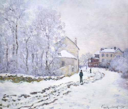 landscapes - Nevada en Argenteuil, 1875 - Monet, Claude