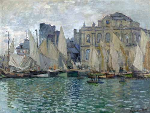 seascapes - Museo Naval En Le Havre - Monet, Claude