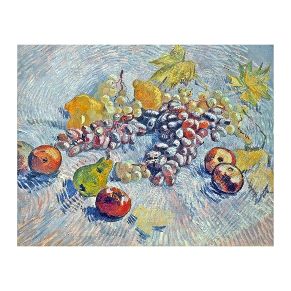 """Grapes, Lemons, Pears, and Apples, 1887"""