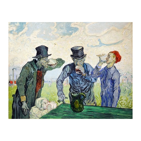 """""""The Drinkers, 1890"""""""