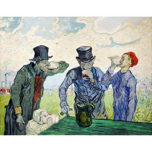 Comprar  - Cuadro The Drinkers, 1890 online - Van Gogh, Vincent