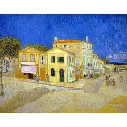 Cuadro The yellow house, 1888
