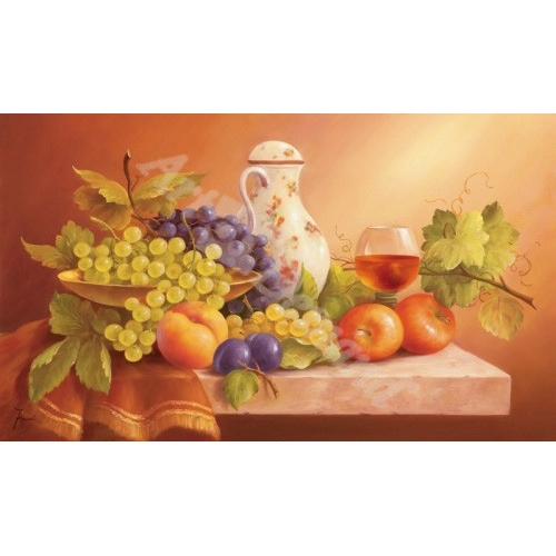 """Still Life With Fruits II"""