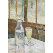 "Cuadro ""Cafe table with absinth, 1887"""