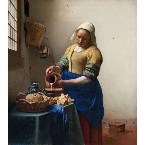 The Milkmaid, 1660
