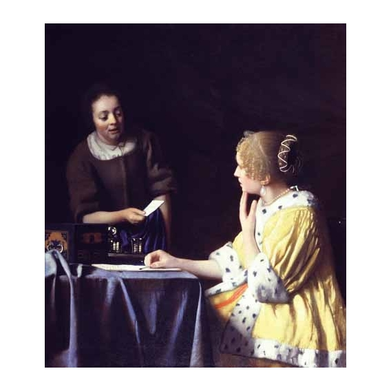 """Mistress and Maid ca. 1666-1667"""
