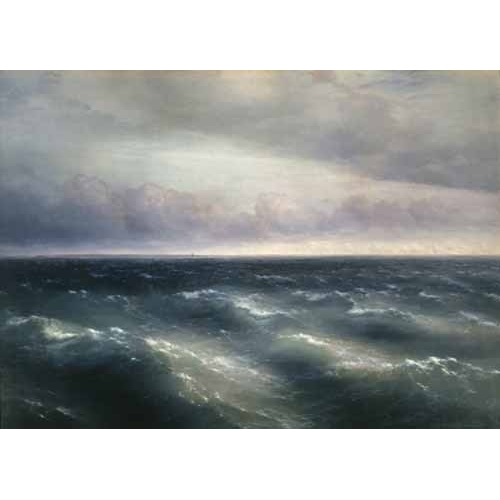 Comprar seascapes - The Black Sea, 1881 online - Aivazovsky, Ivan Konstantinovich