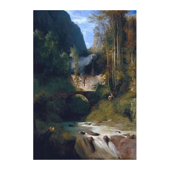 """Gorge near Amalfi"""