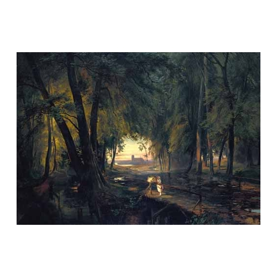"""Forest path near Spandau"""