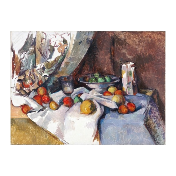 Still Life with Apples, 1895-1898